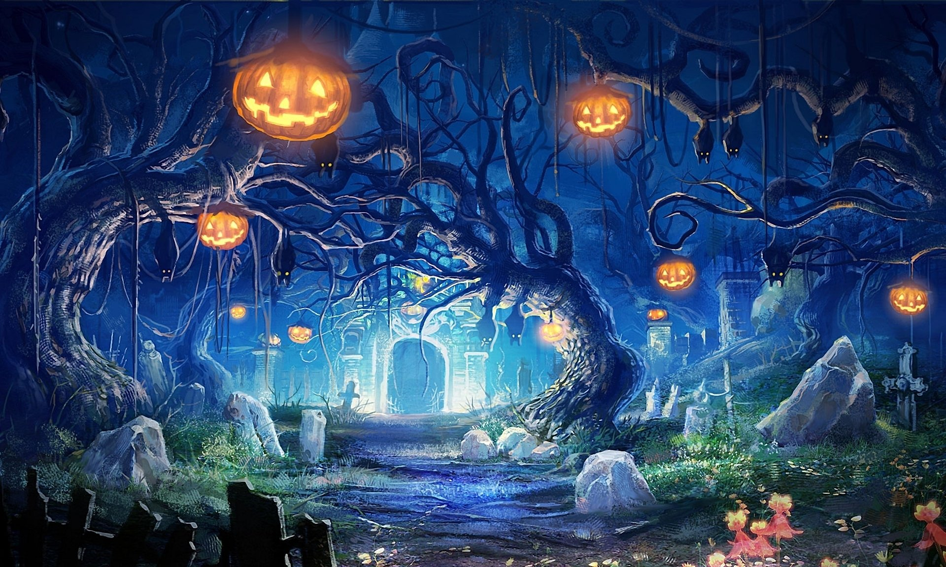 halloween desktop wallpapers #14