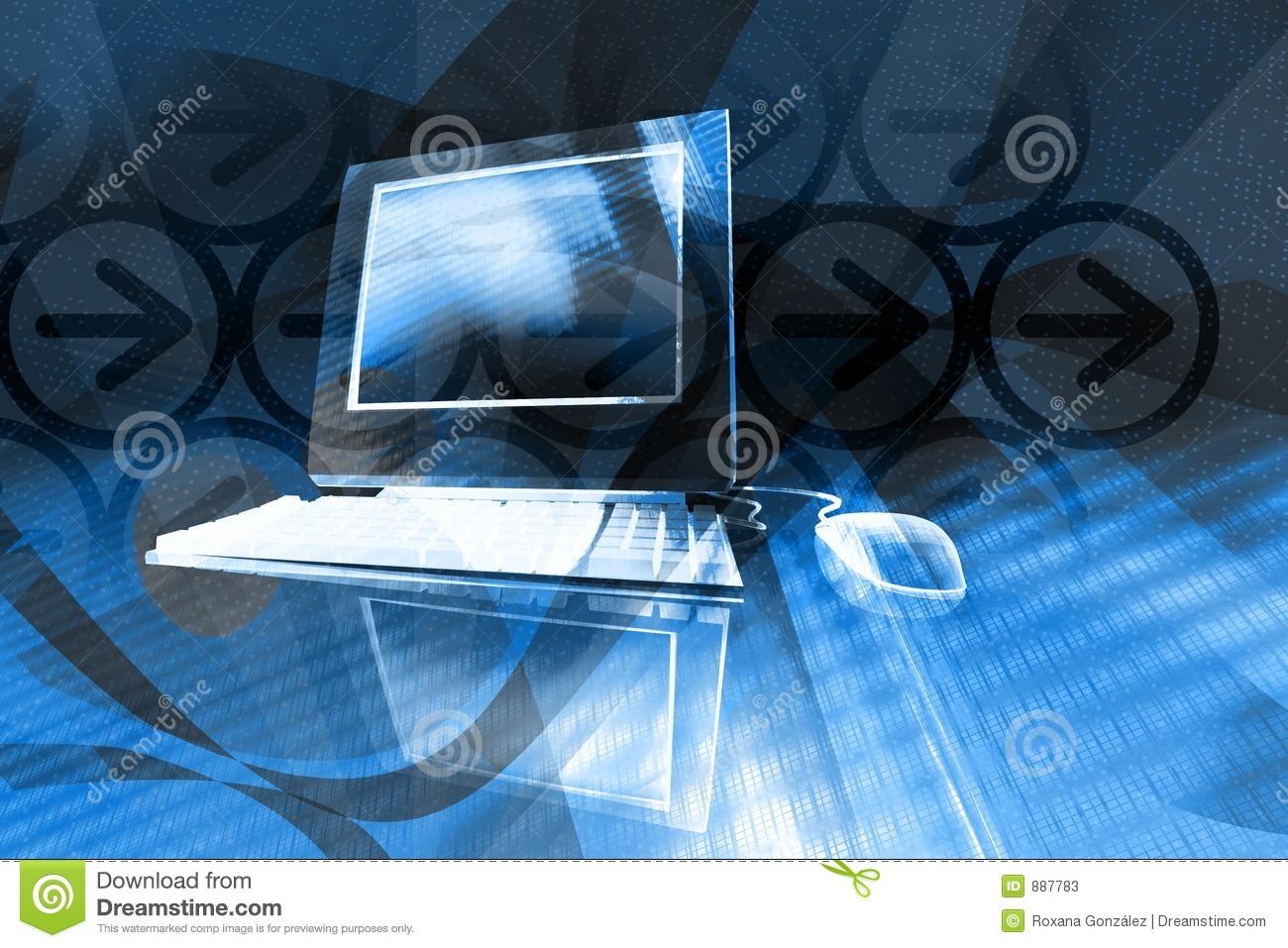 Computer Background Stock Image - Image: 898271