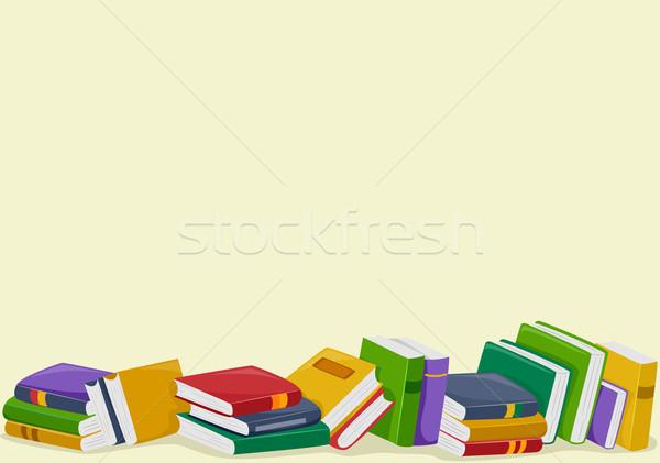 Books background clipart - ClipartFest