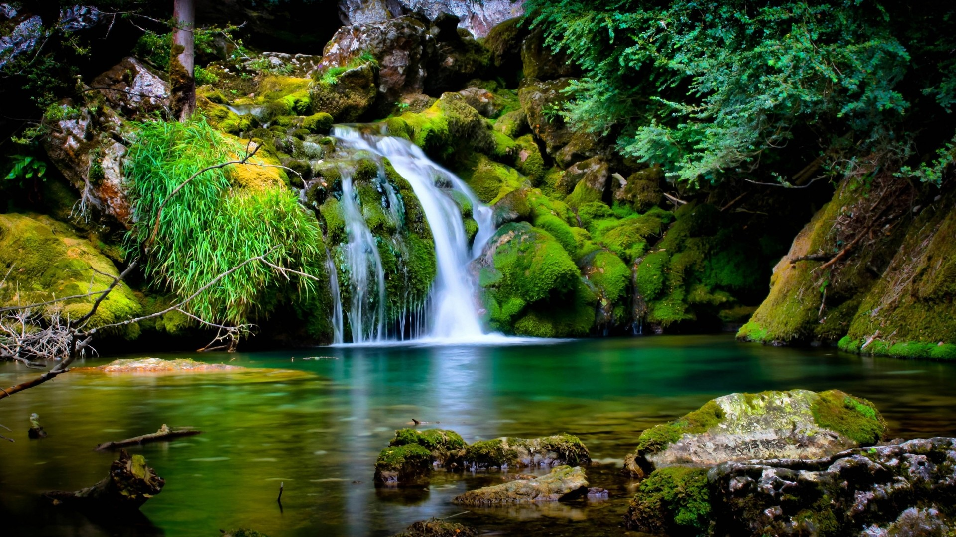 Background Images Of Waterfalls Group (76+)