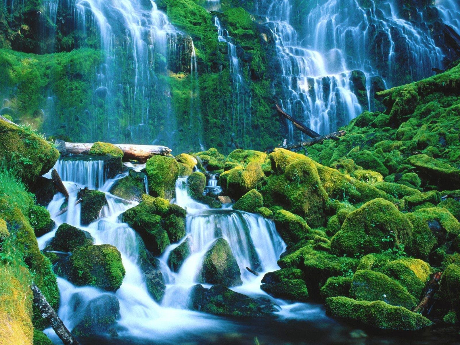 2251 Waterfall HD Wallpapers | Backgrounds - Wallpaper Abyss