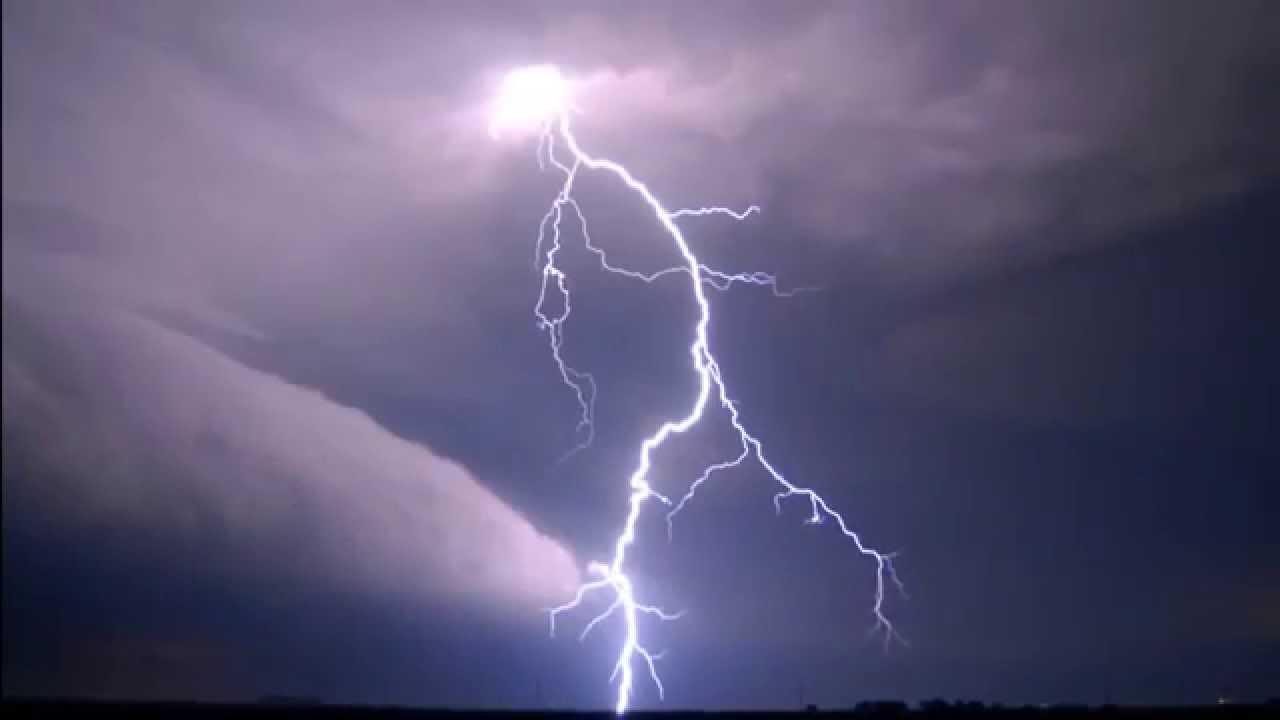 lightning background - YouTube