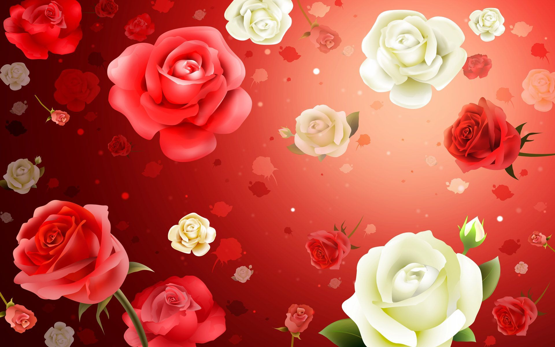 Roses Wallpapers For Desktop - Wallpaper Cave