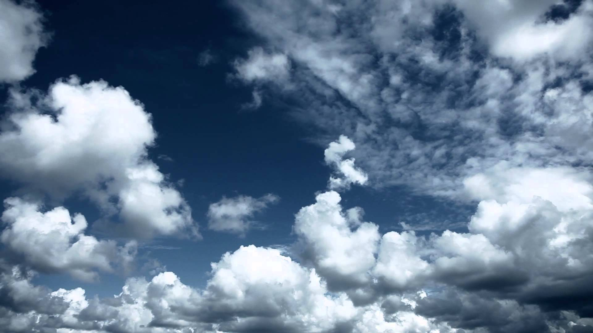 Sky with clouds  Relaxing background  - YouTube