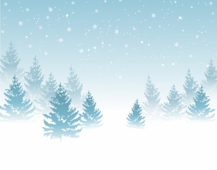 Free winter background clipart - ClipartFest