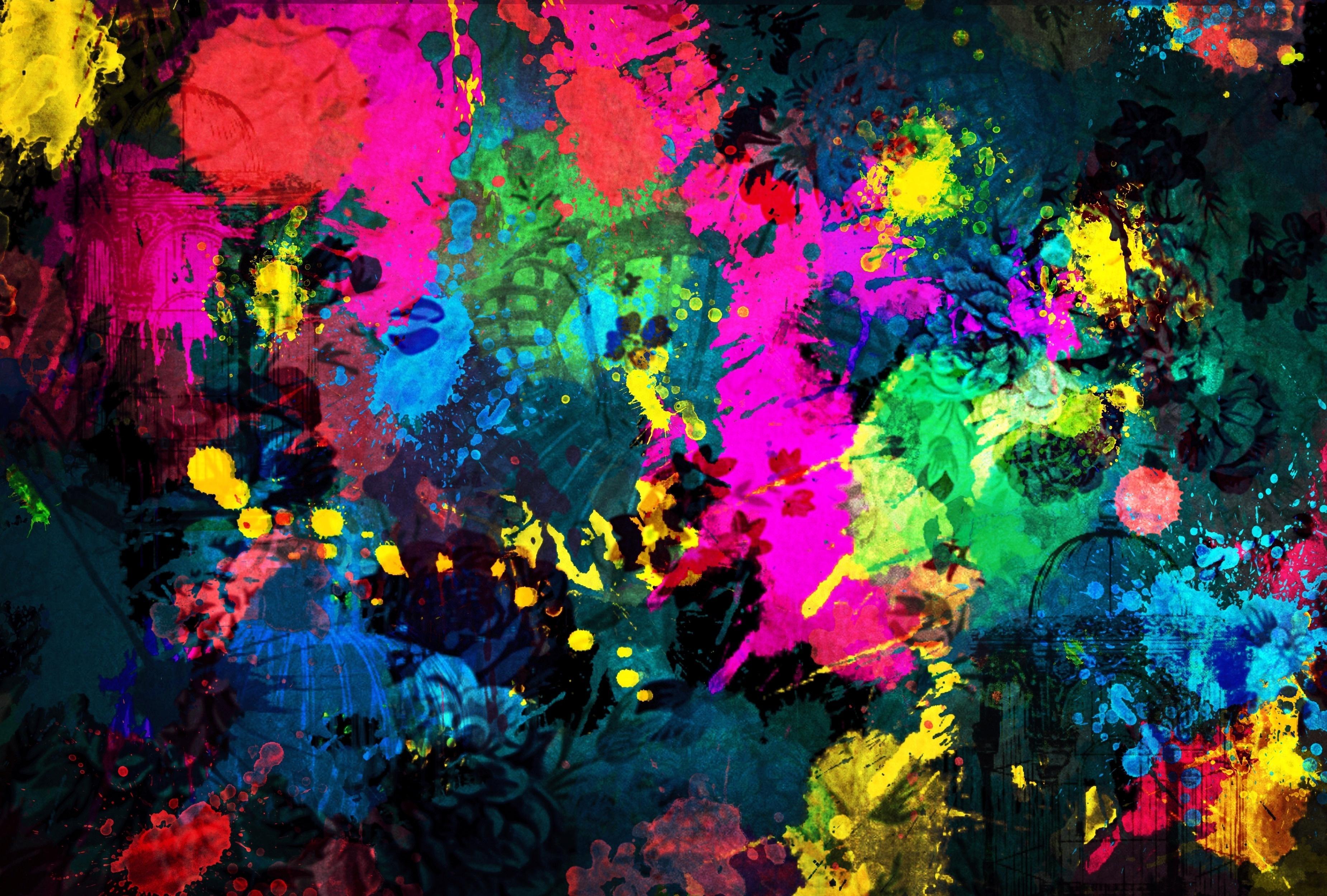 Bright Colorful Backgrounds Wallpaper - WallpaperSafari