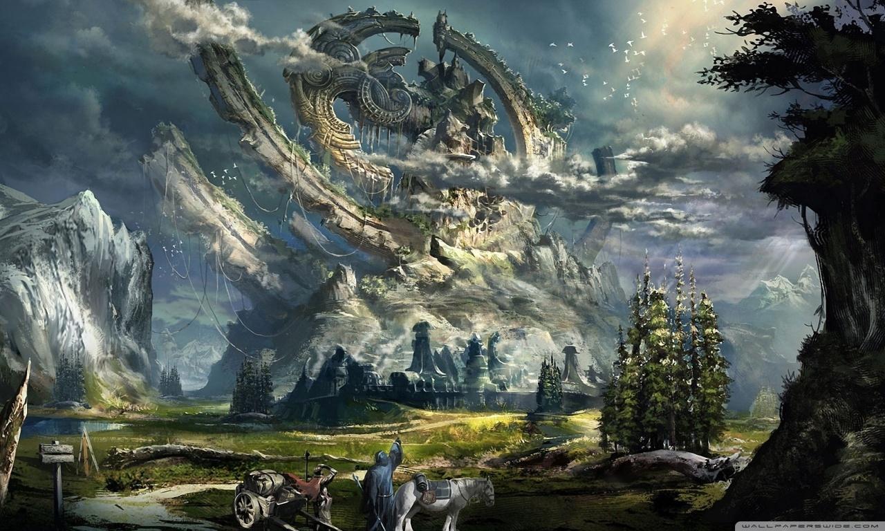 backgrounds fantasy - sf wallpaper