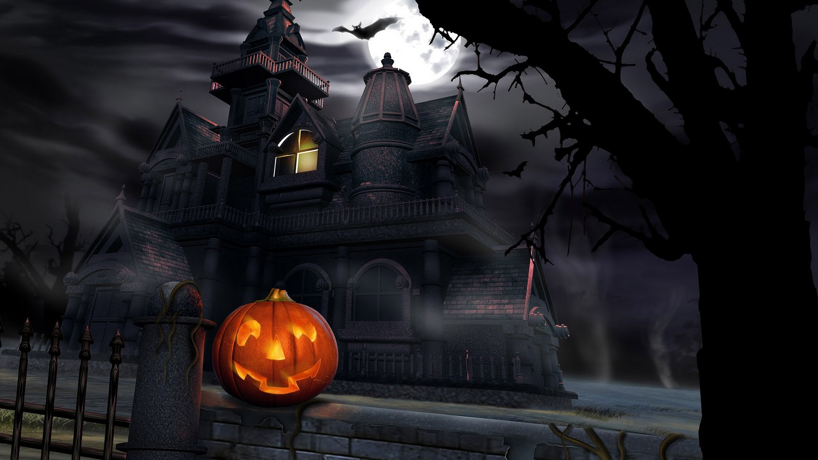 Backgrounds For Halloween - WallpaperSafari