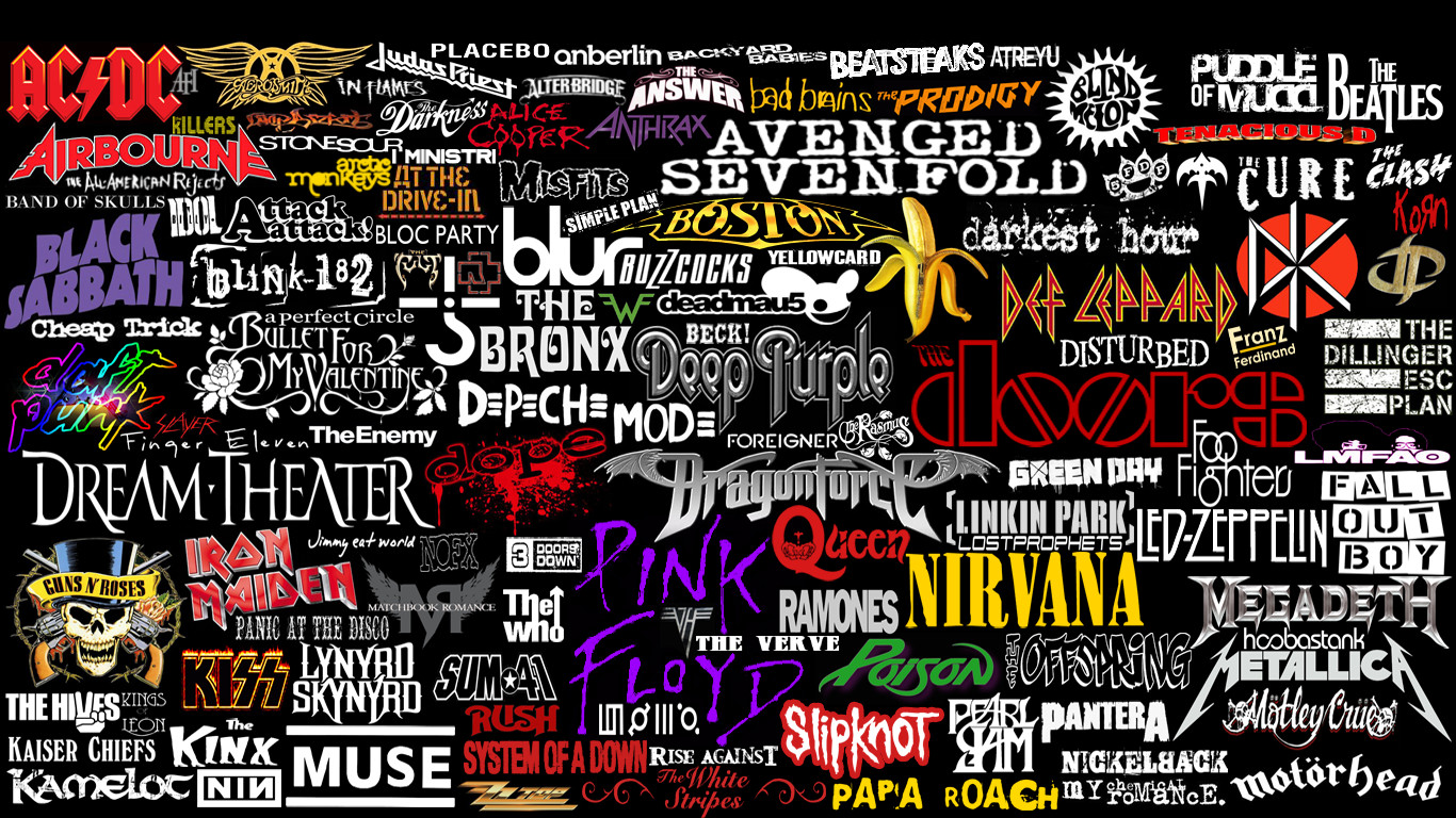 Band Logo Wallpapers Group (79+)