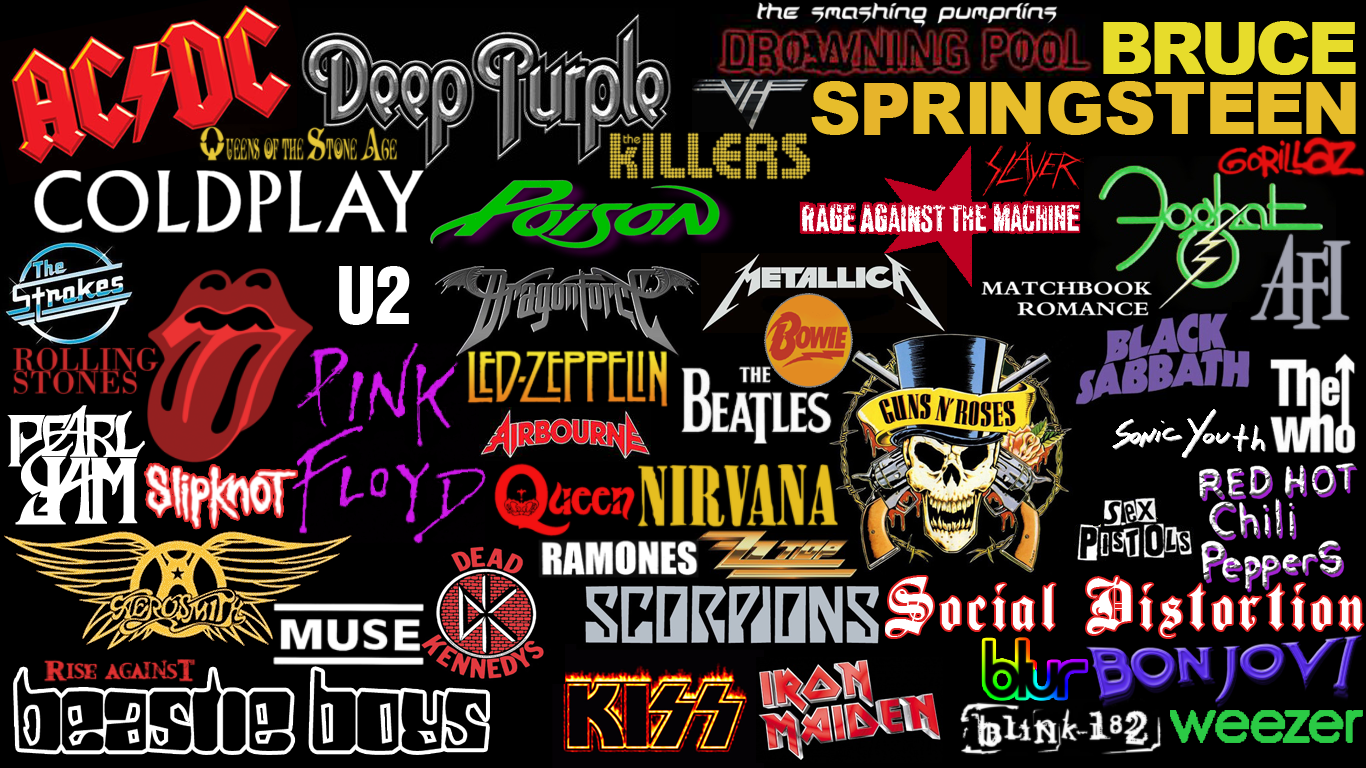 Classic Rock Bands Wallpaper - WallpaperSafari