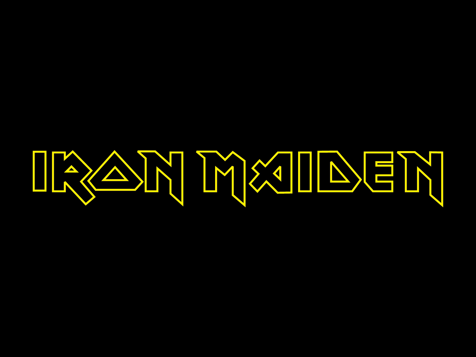 Iron Maiden band logo wallpapers | Band logos - Rock band logos