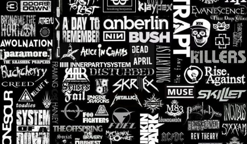 Collection of Band Logo Wallpaper on HDWallpapers