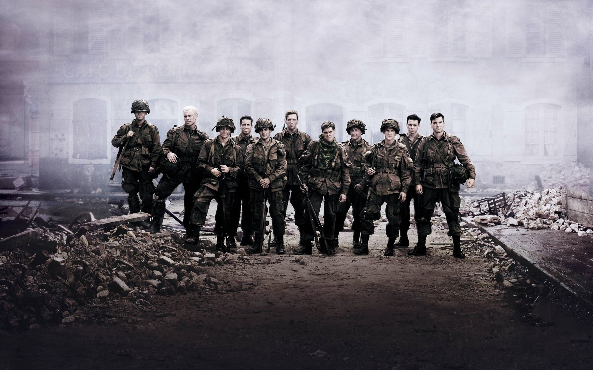 16 Band Of Brothers HD Wallpapers | Backgrounds - Wallpaper Abyss