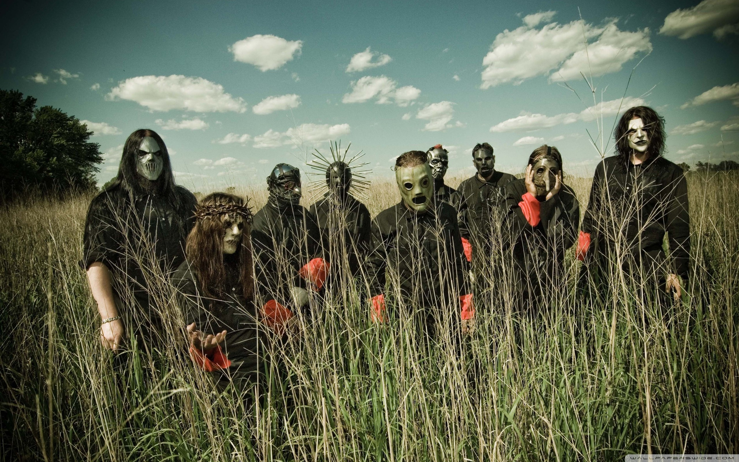 Slipknot Band HD desktop wallpaper : High Definition : Fullscreen