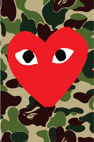 Bape Camo Iphone 5 Wallpaper