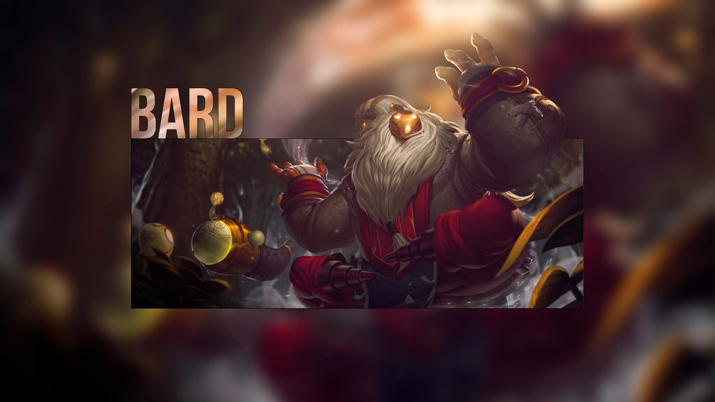 DeviantArt: More Like League of Legends Bard Wallpaper by Mathiashenr