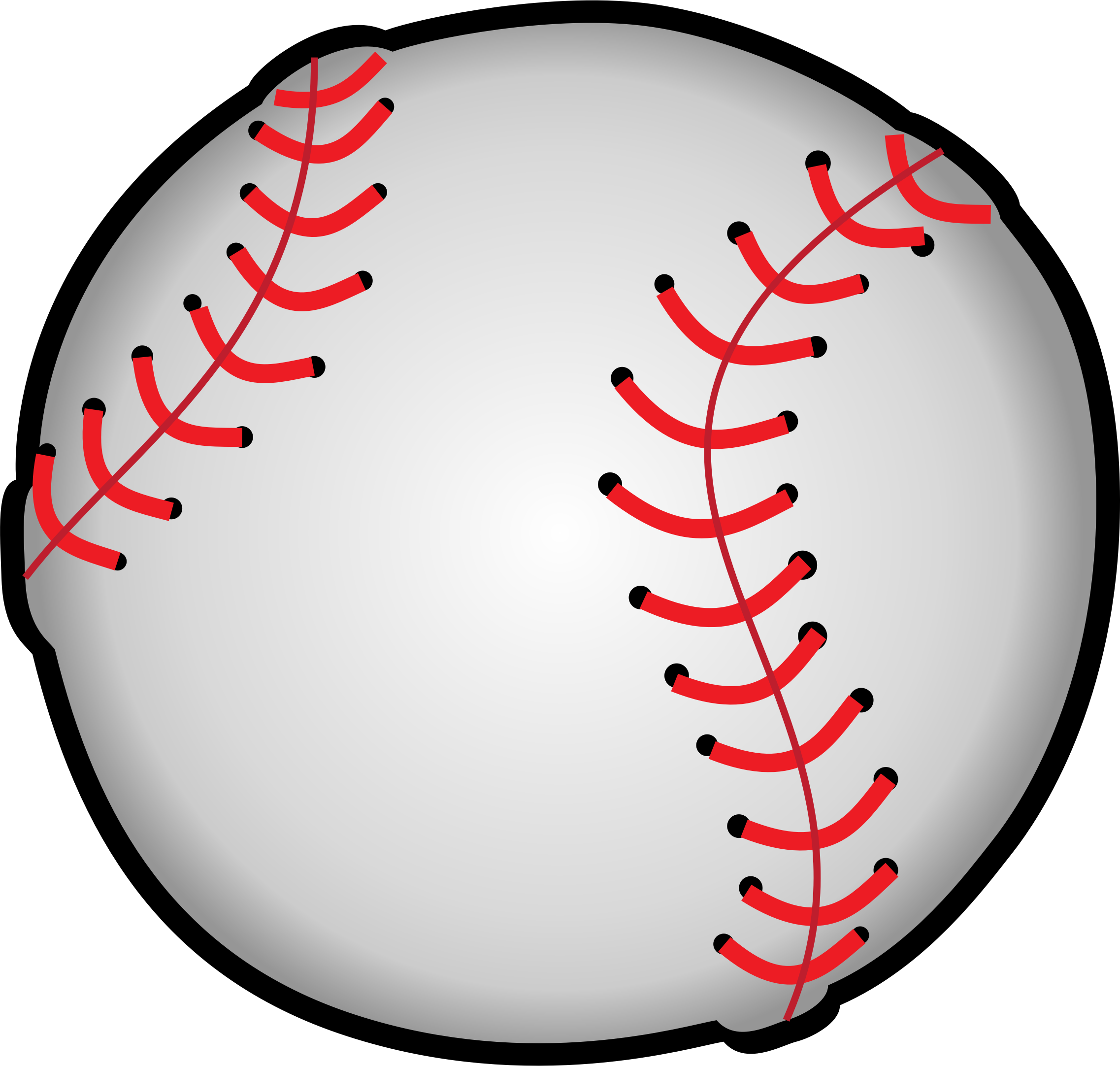 Clipart - Baseball