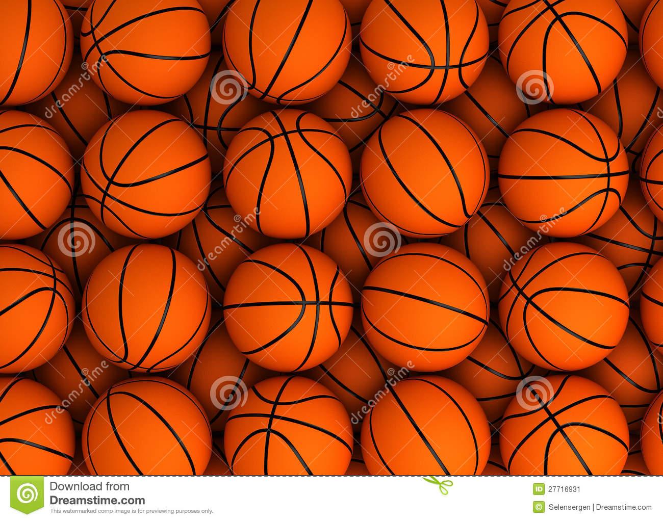Basketball Background Stock Image - Image: 27716931