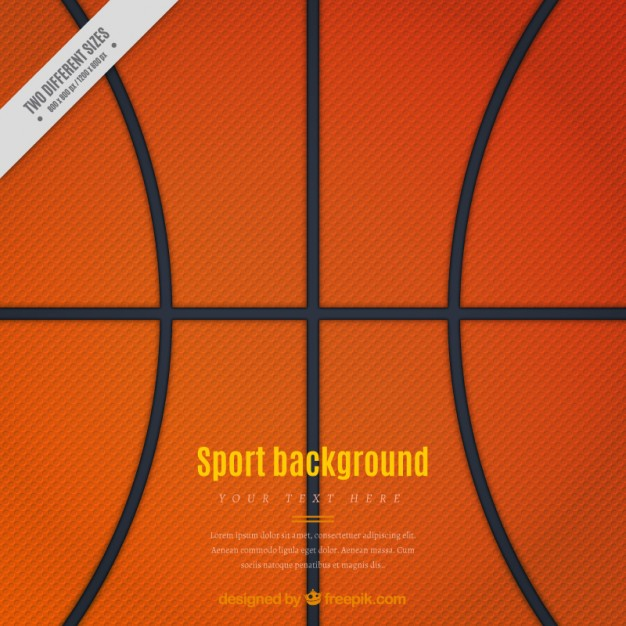 Basketball background Vector | Free Download