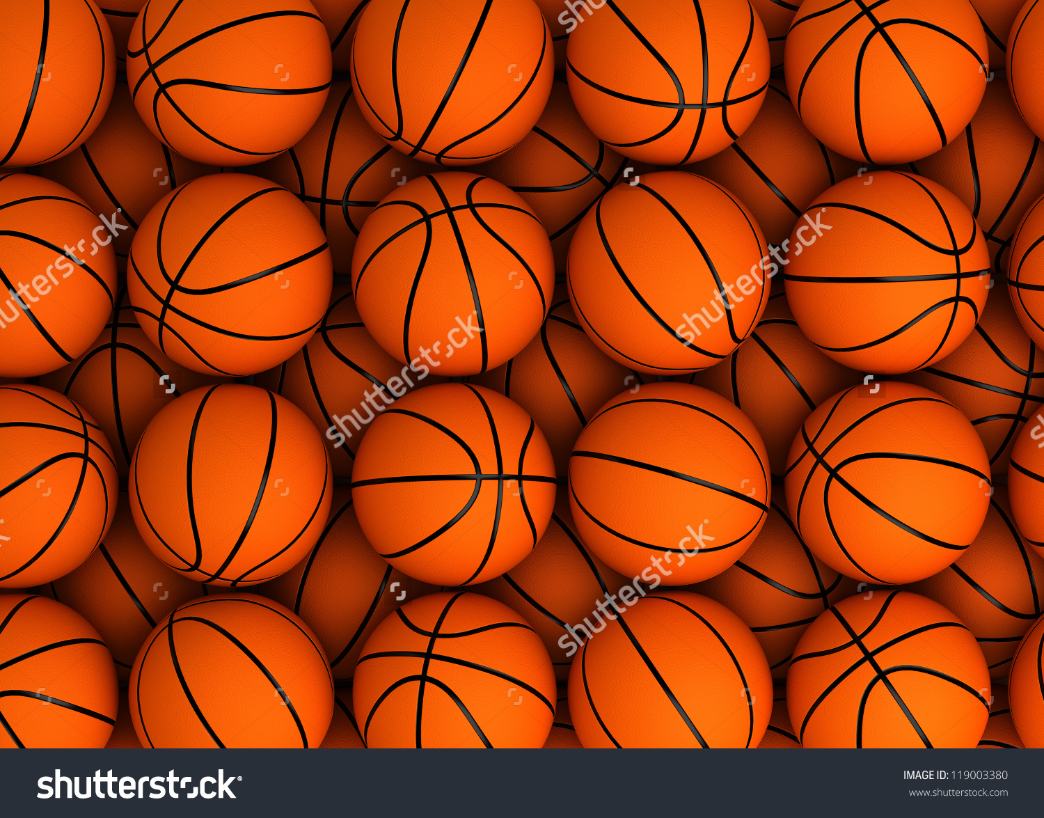 Basketball Background High Resolution Computer Generated Stock