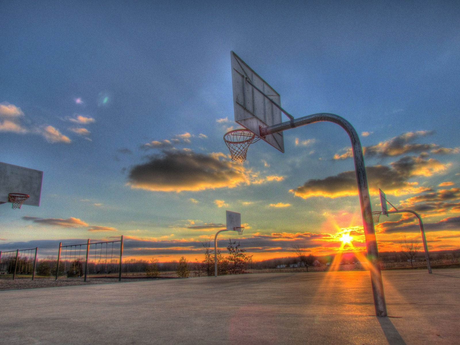 Basketball Court Wallpapers Group (75+)