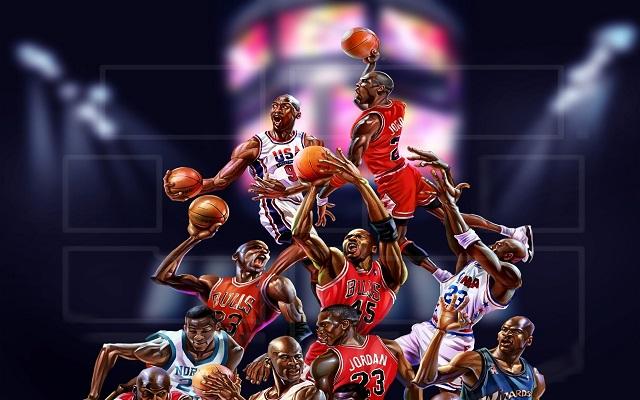 Basketball players wallpaper - SF Wallpaper