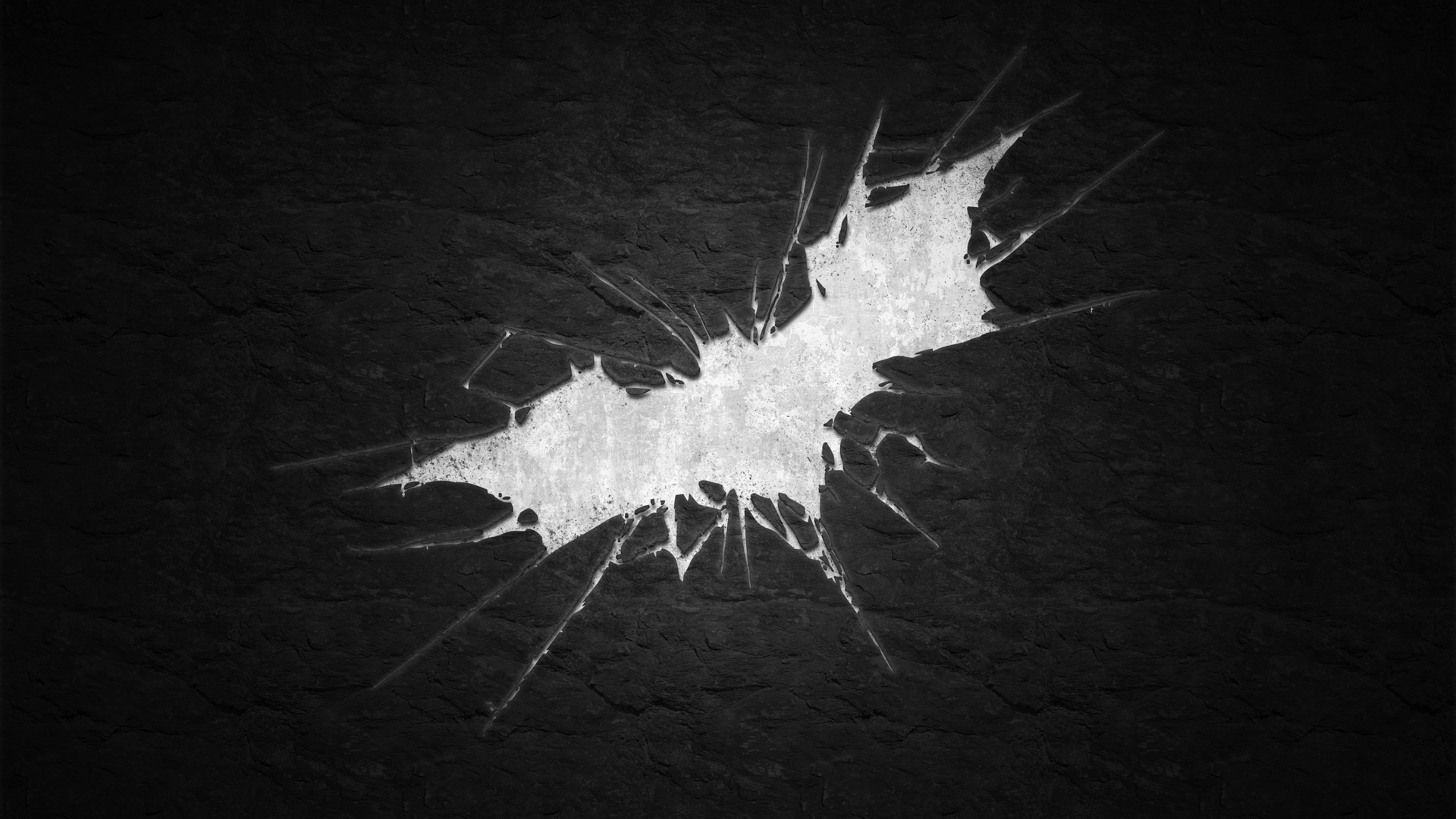 Batman: Shattered / the dark knight rises wallpaper | Black and