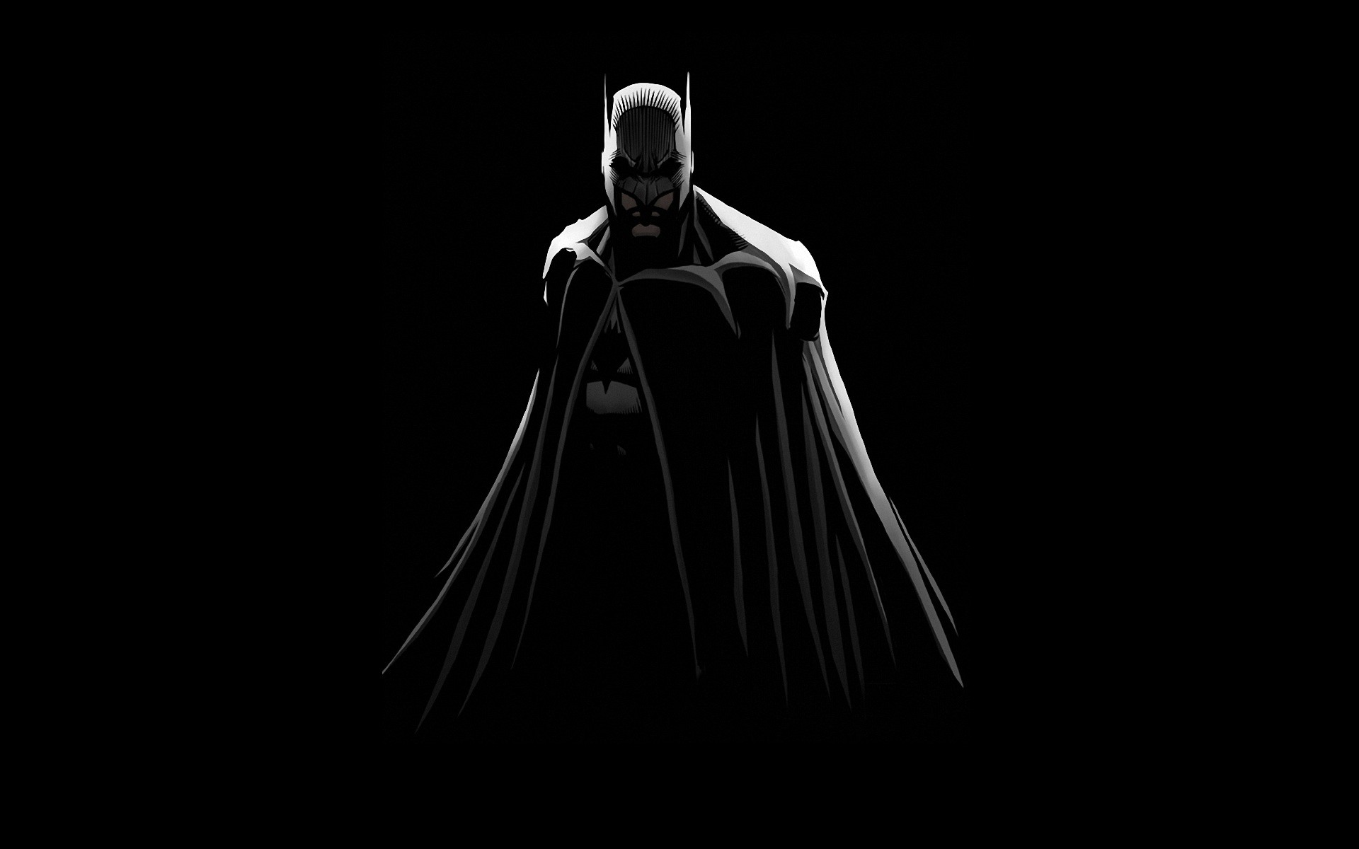 Batman Black Background Dc Comics