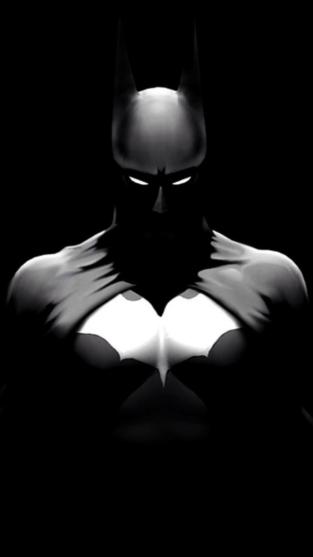 Black and White Batman Wallpaper - WallpaperSafari