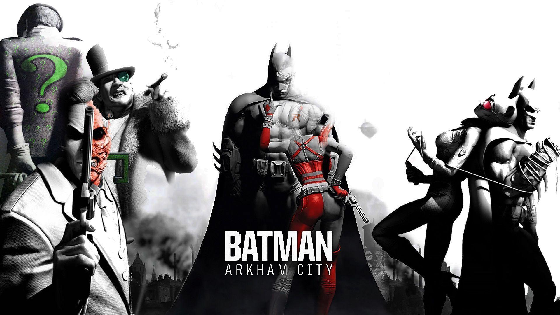 batman city wallpaper - sf wallpaper