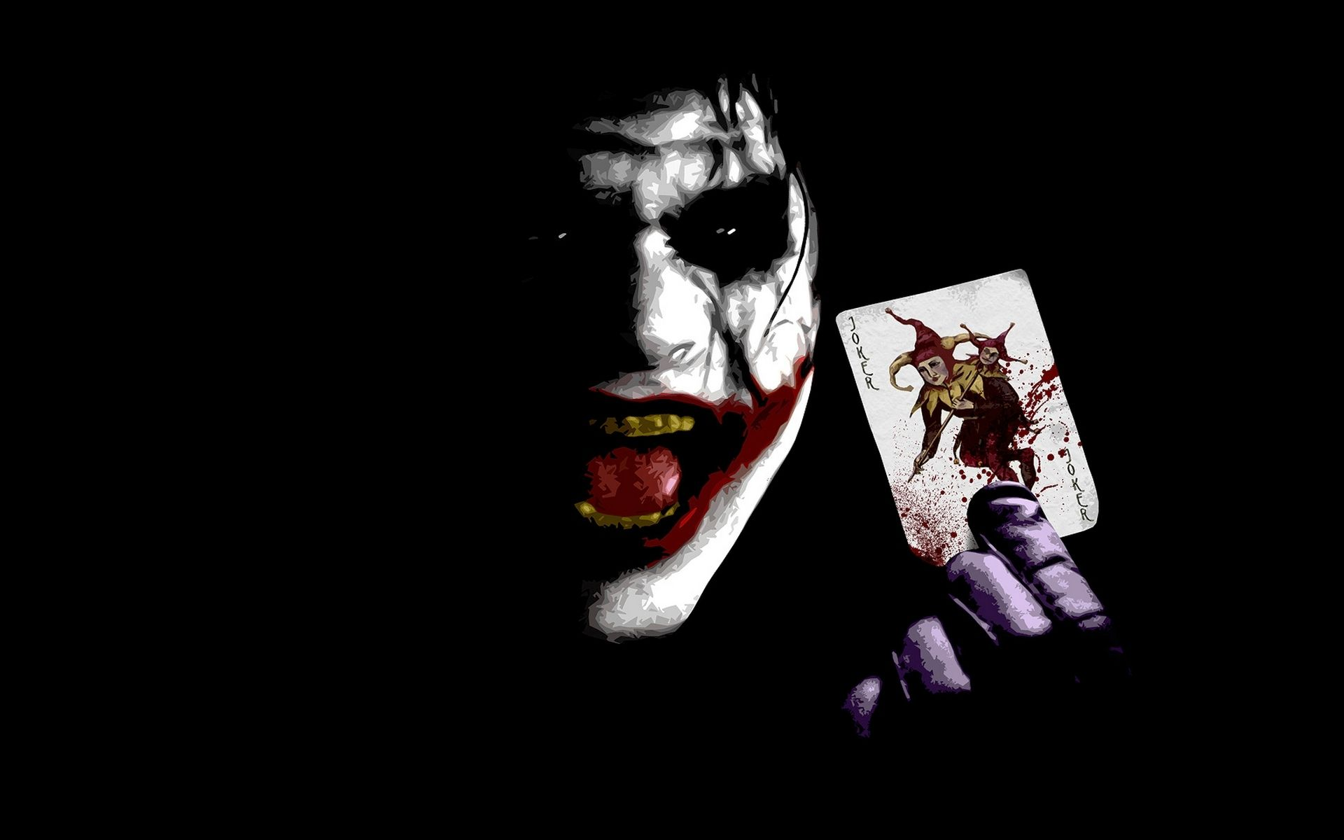 Collection of Batman Dark Knight Joker Wallpaper on HDWallpapers