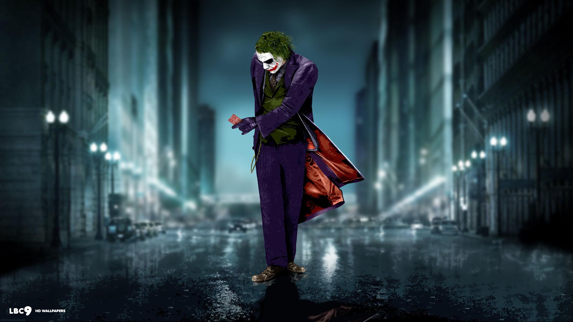 Collection of Batman Dark Knight Joker Wallpaper on HDWallpapers
