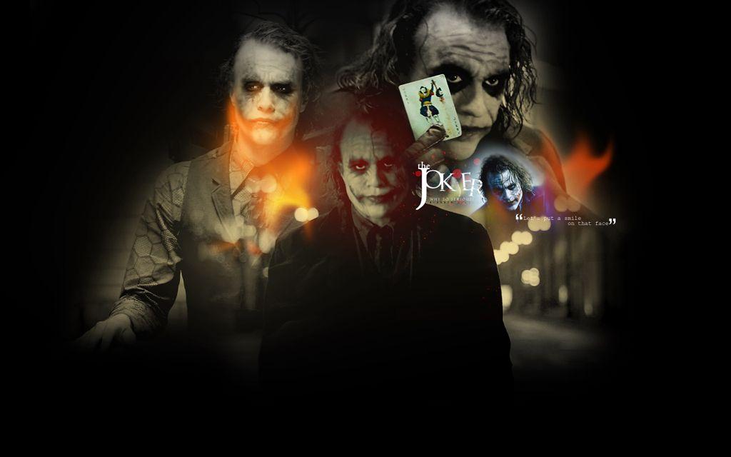 The Joker Dark Knight Wallpapers Group (85+)