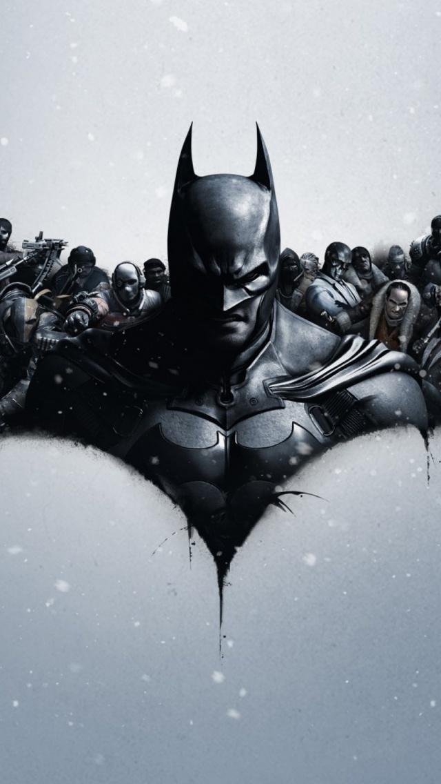 Batman Arkham Origins Mobile Wallpaper - Mobiles Wall