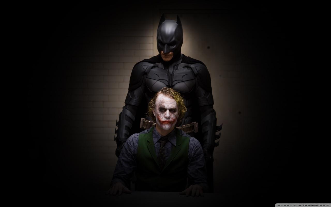 Batman And Joker HD desktop wallpaper : High Definition