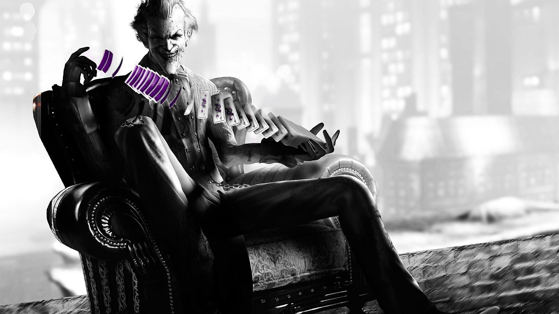 Batman Vs Joker Arkham City Wallpaper