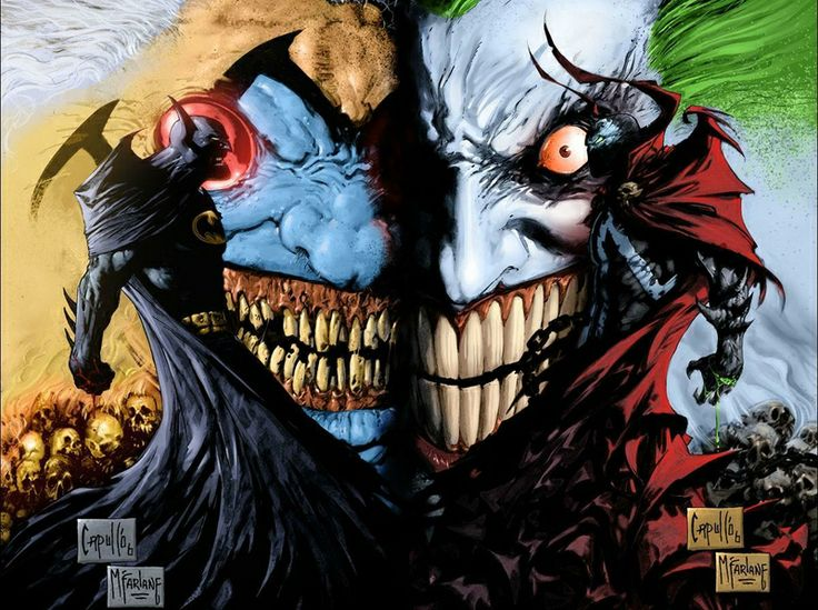 Comic Joker Wallpapers Group (63+)
