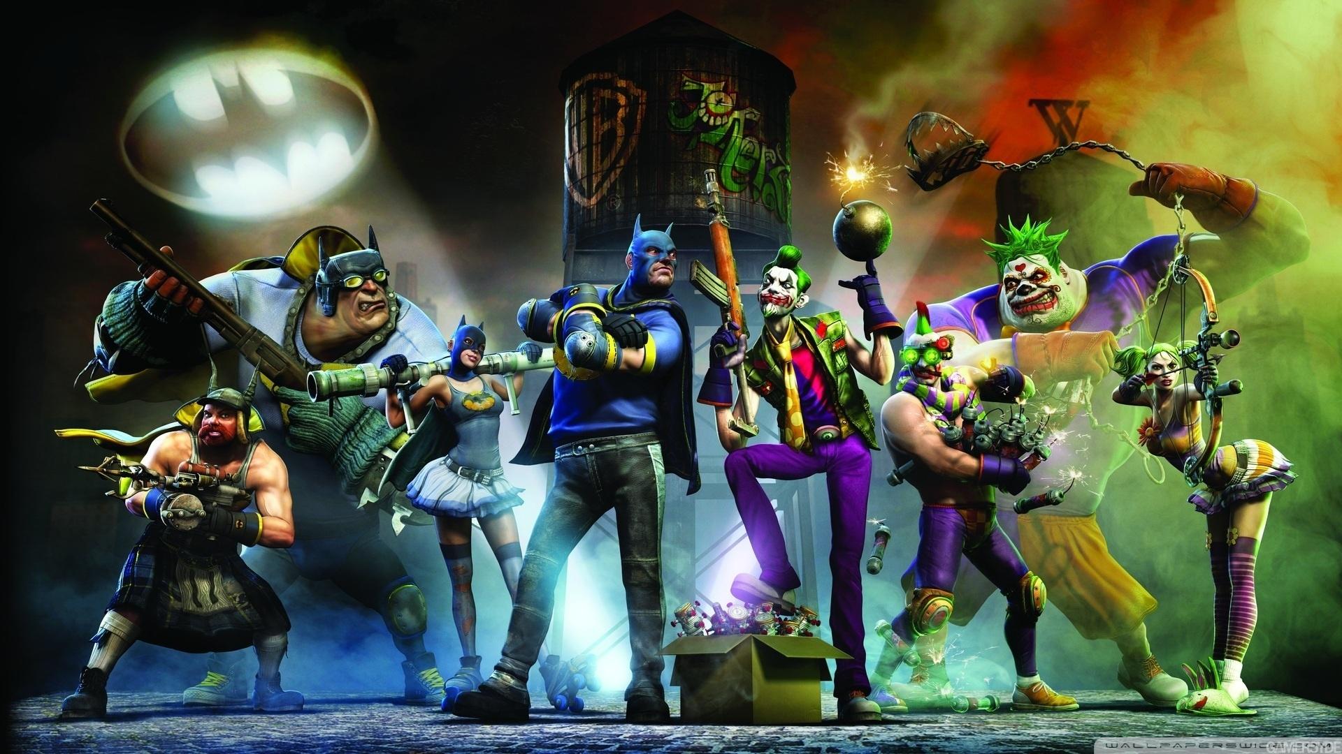 Joker Vs Batman HD desktop wallpaper : High Definition : Mobile