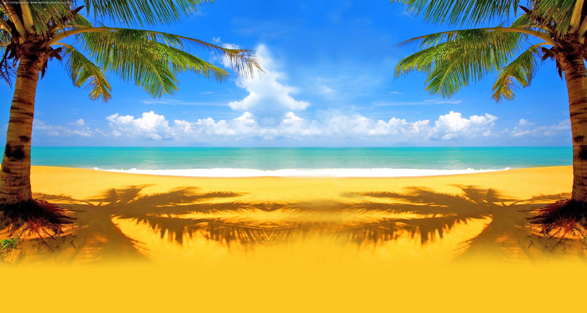 Beach Background - HDWPlan