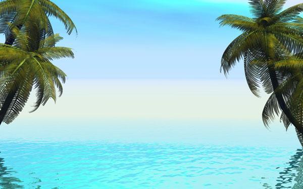 Background Beach Images - WallpaperSafari
