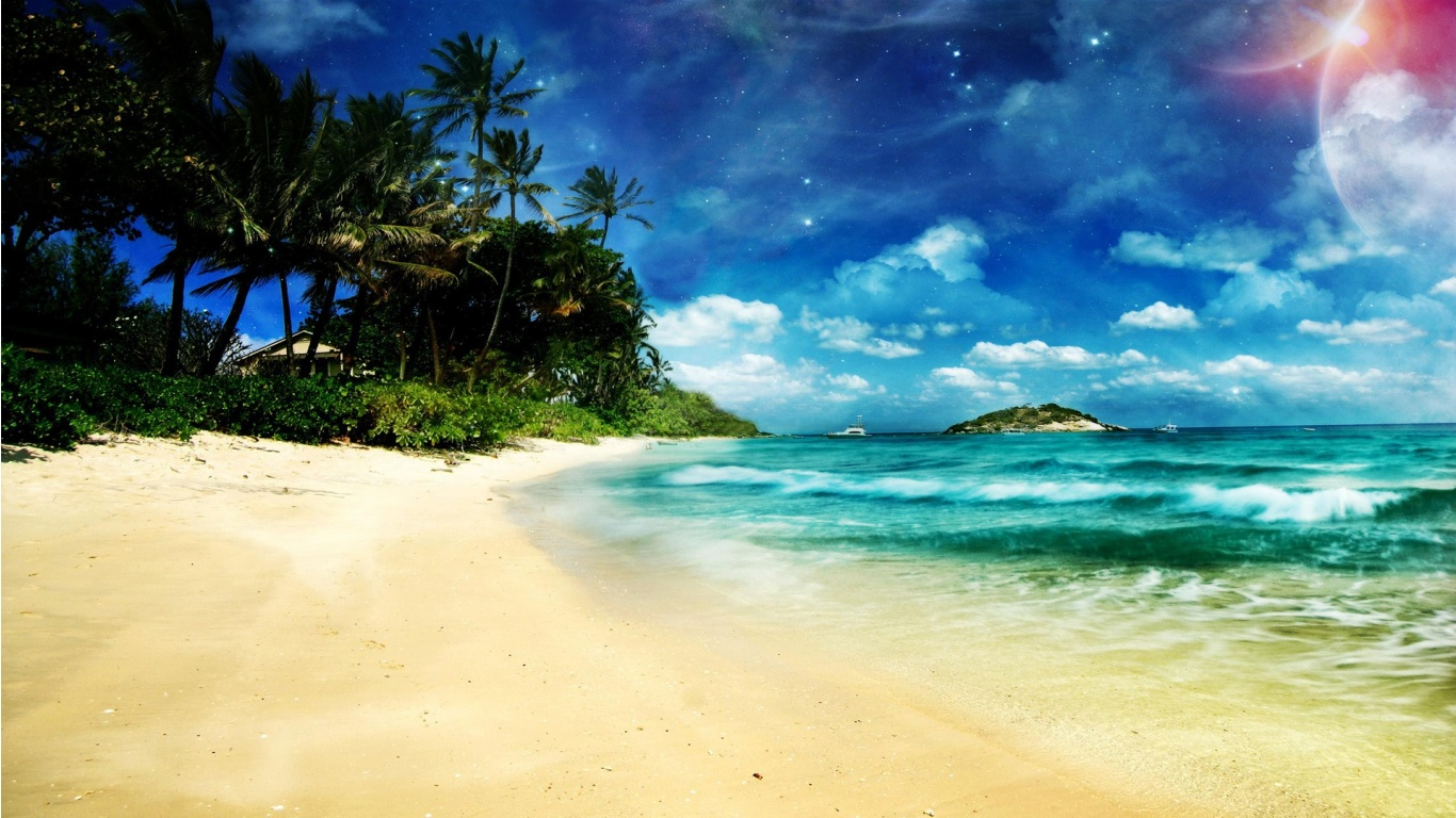 Collection of Free Desktop Wallpaper Beach on HDWallpapers