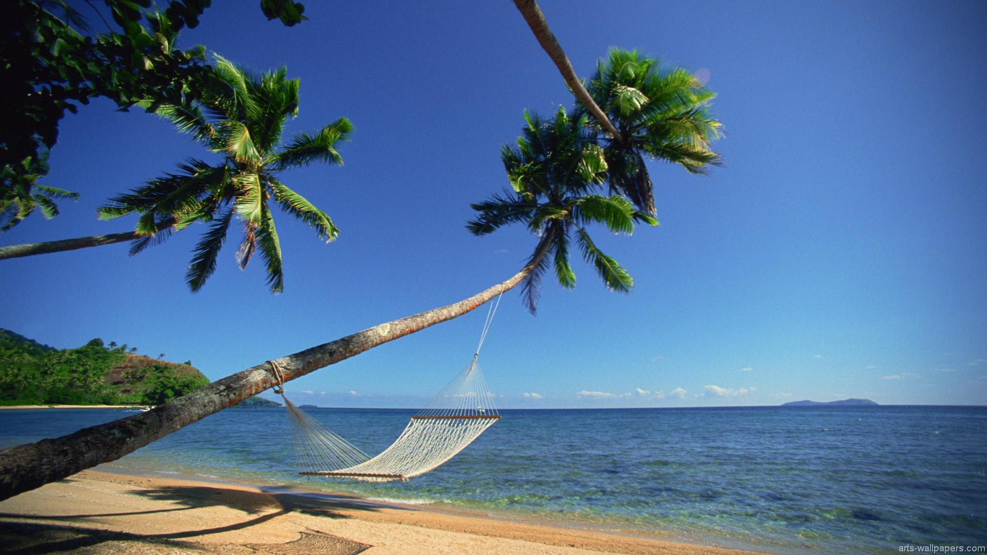 Tropical Beach Hammock Wallpaper 2014 HD | I HD Images