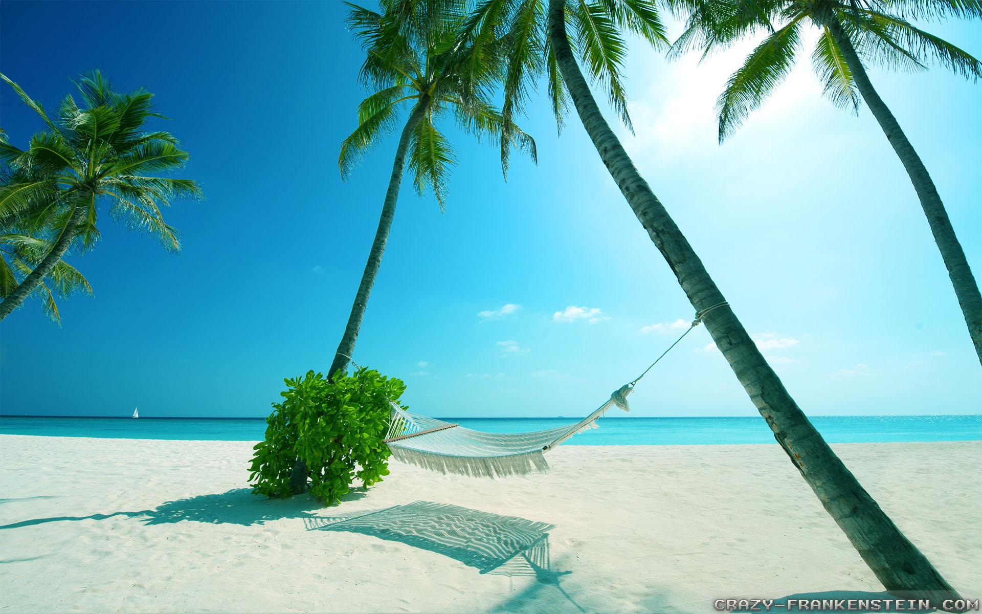 free beach scene wallpaper - sf wallpaper