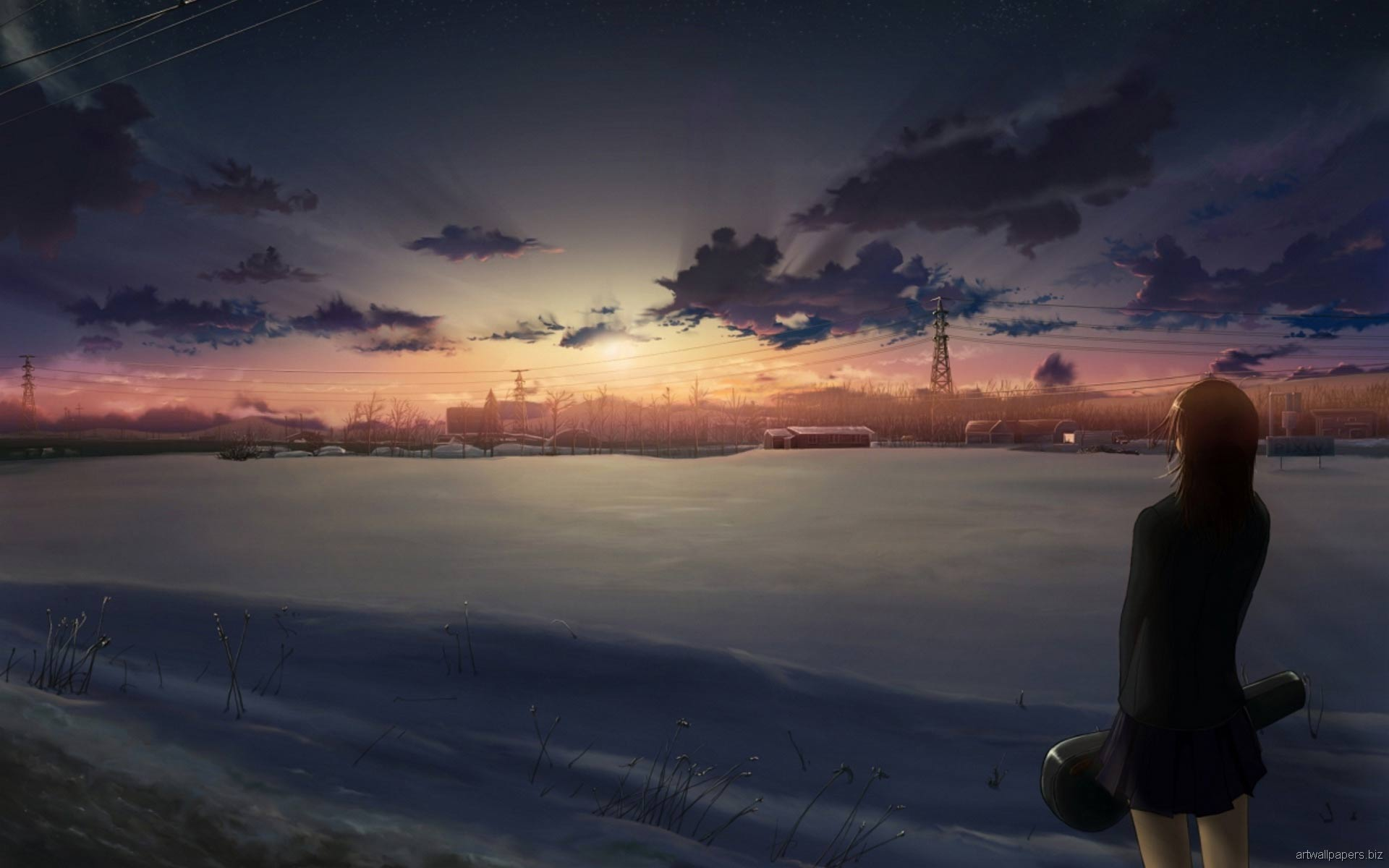Collection of Beautiful Anime Backgrounds on HDWallpapers
