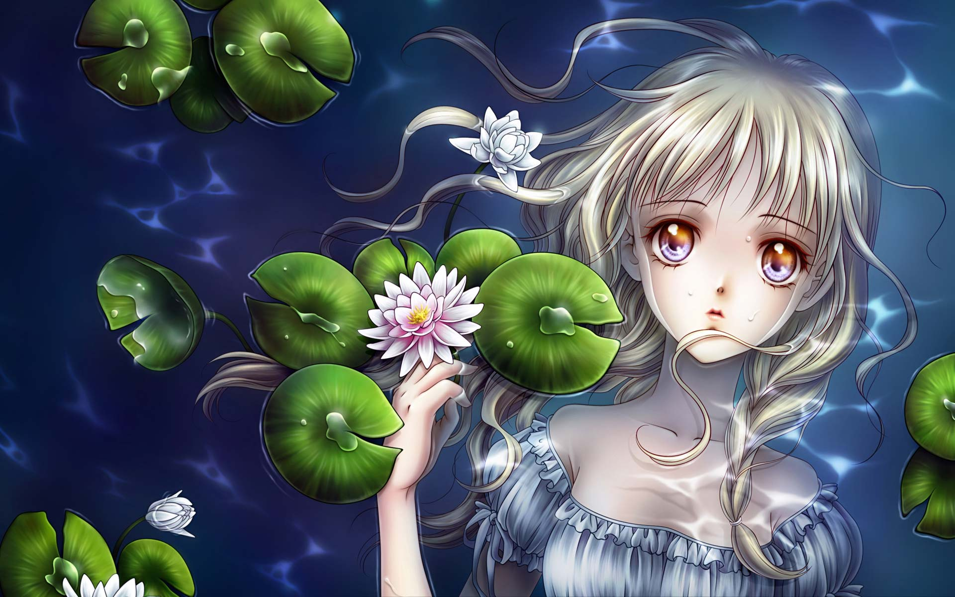 Beautiful Anime Girl Picture Wallpaper 8638