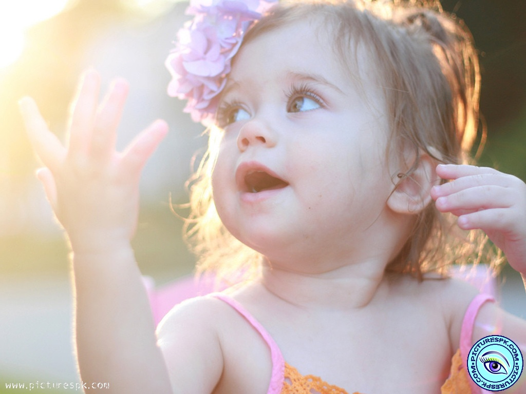 Beautiful Baby Girl Wallpapers Free - WallpaperPulse