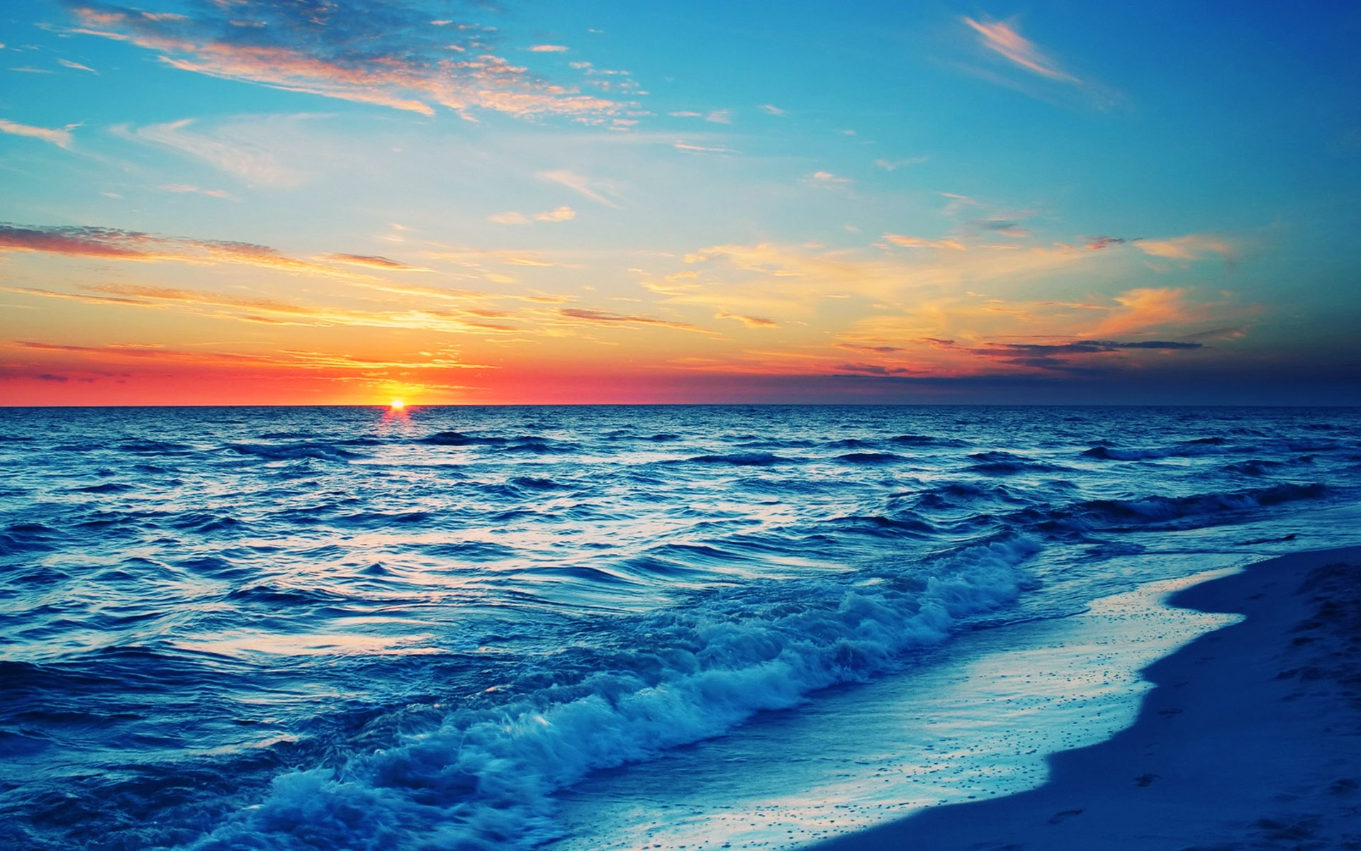 Sunset On The Beach Wallpapers Group 91