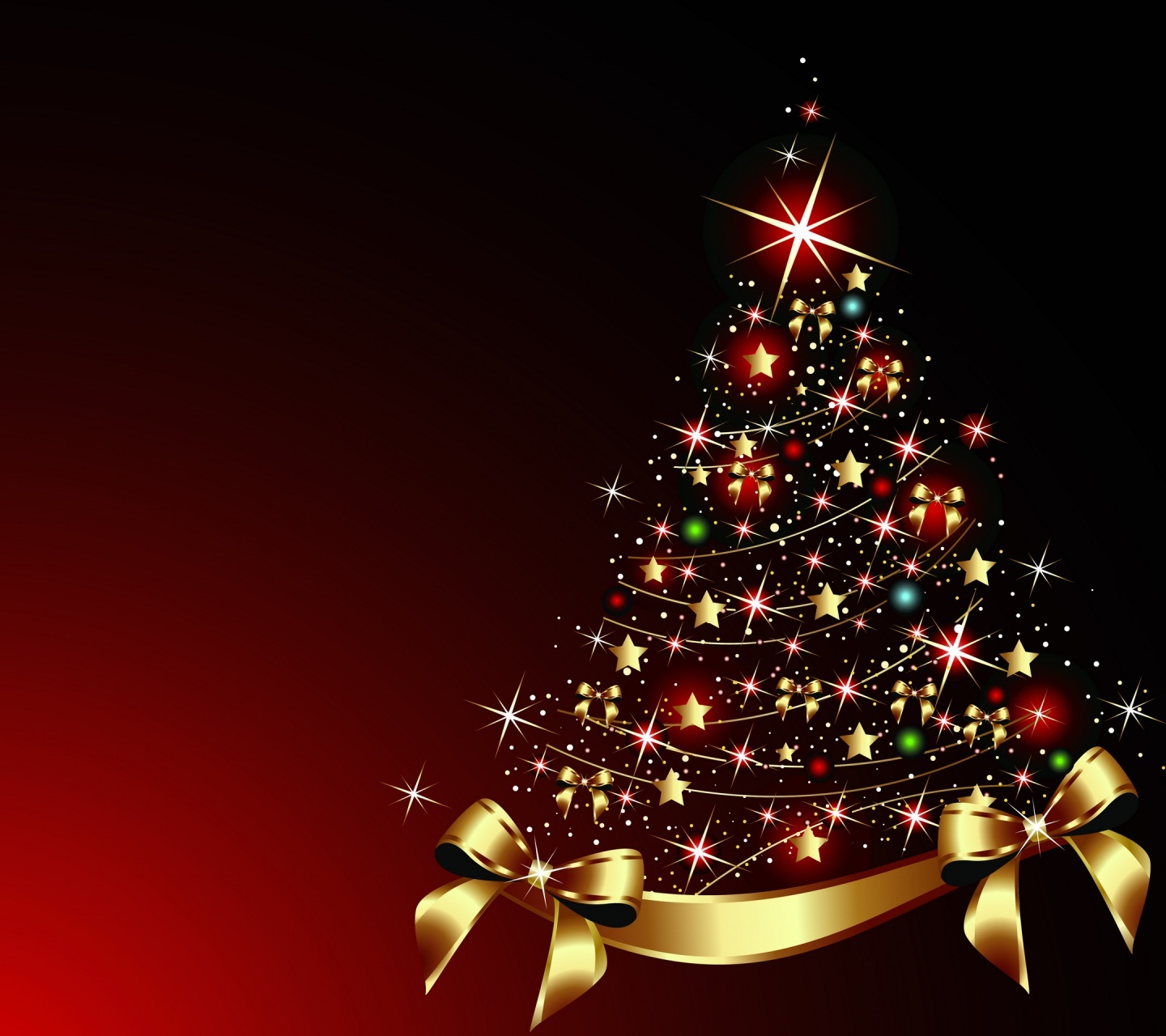 Collection of Christmas Tree Desktop Backgrounds on HDWallpapers
