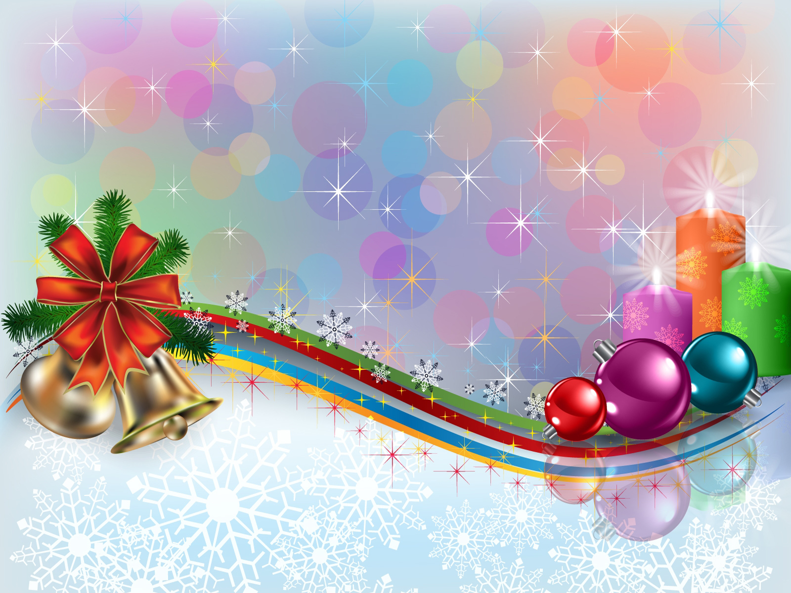 Beautiful Christmas Wallpapers Wallpaper - WallpaperSafari