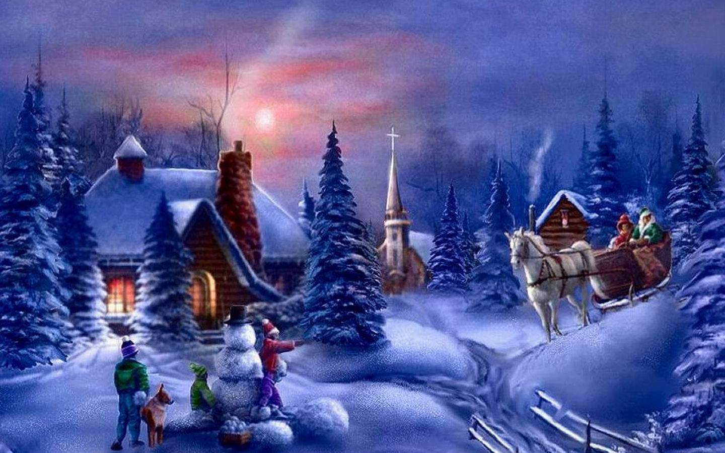 Beautiful Christmas Wallpapers - Wallpaper Cave